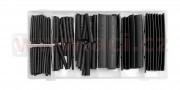 9900E30 sada zmršťovacích bužírok 127 ks (čierna), max 125 ° C, max 600 V 9900E30 ACI